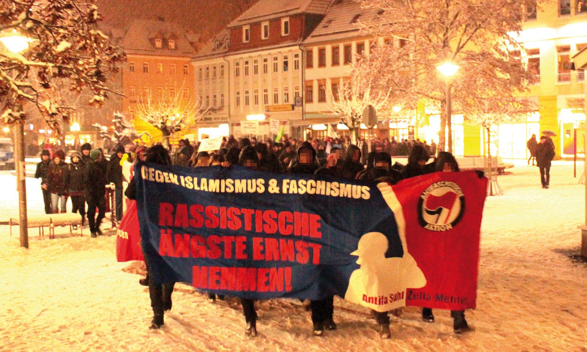 Antifaschistische Gruppen Südthüringen (AGST)