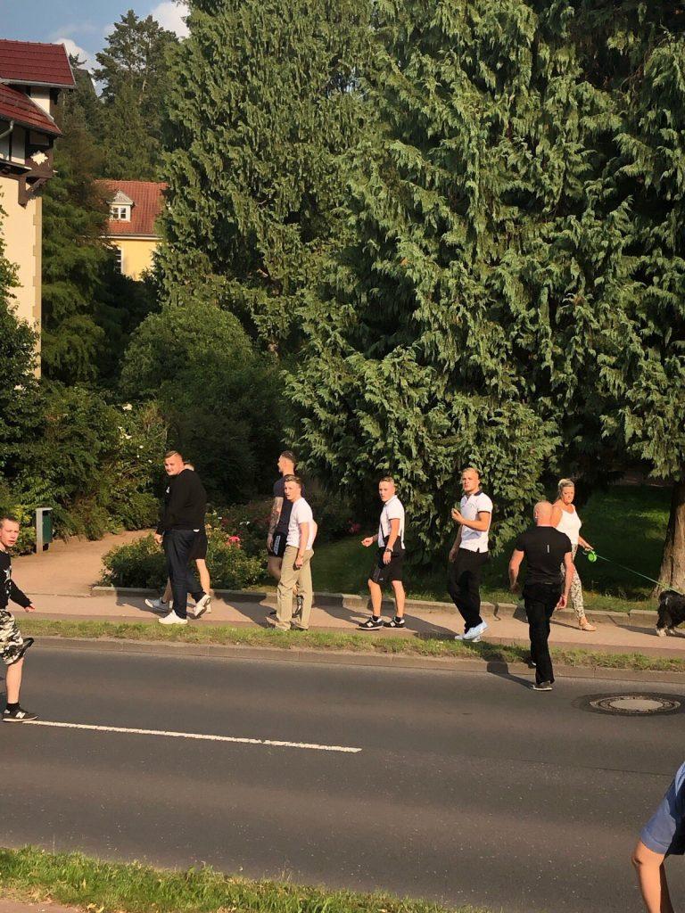Nazis nach Angriffsversuch auf Antifademo am 24.8.2019 in Eisenach