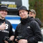 """Florian Fischer und Leon Ringl beim """"Schild und Schwert"""" in Ostritz am 2.11.2018"""