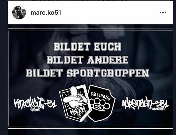 Grafik Knockout 51 und Adrenalin Braunschweig